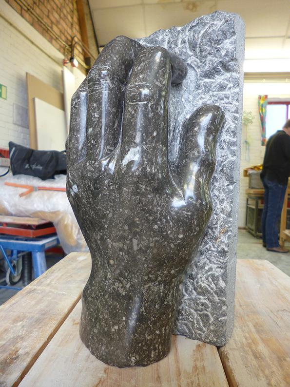 Liesbeth Crooijmans beeldhouwen