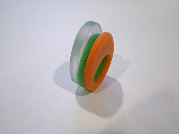 edelsmeden kunststof ring